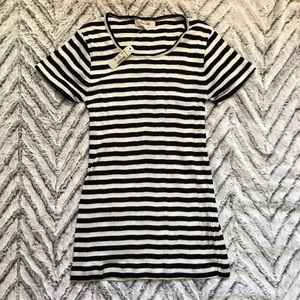 Madewell striped ribbed tee